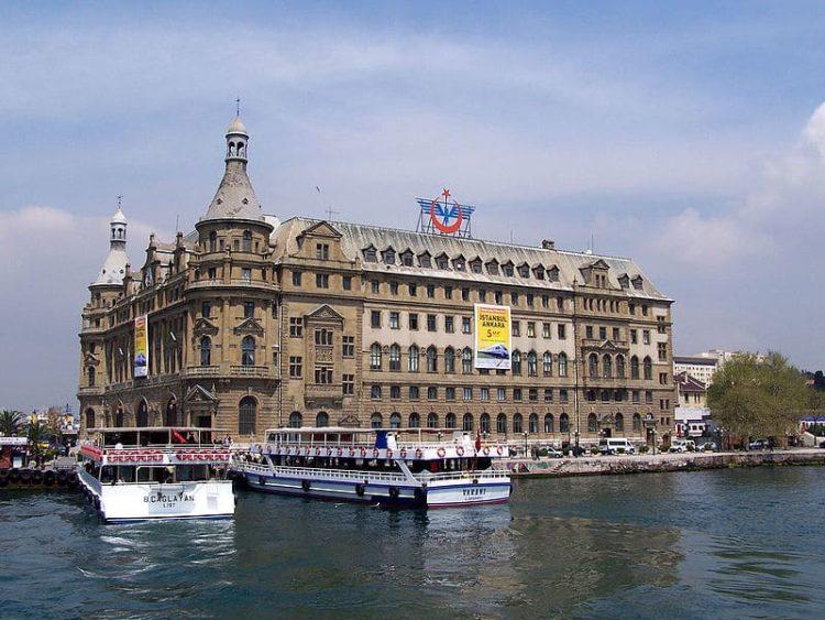 Вокзал Хайдарпаша в Турции