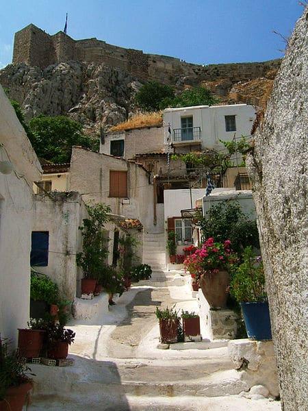 Плака в Греции
