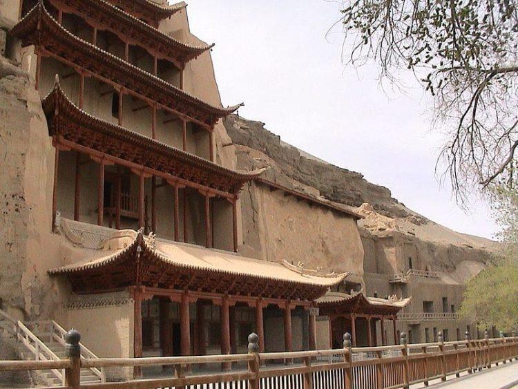 Пещеры Могао в Китае