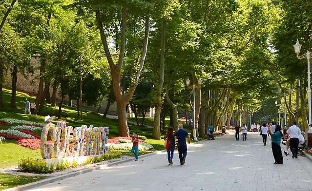 Парк Гюльхане в Турции