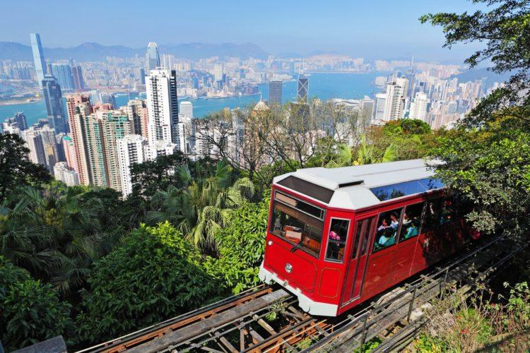 Фуникулёр Пик-трам в Китае