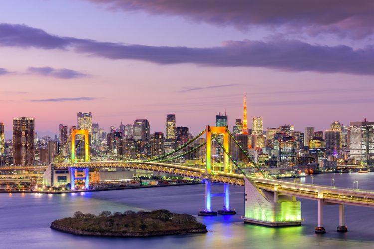 Радужный мост в Японии