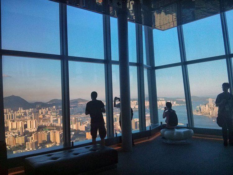 Смотровая площадка Скай 100 в Китае