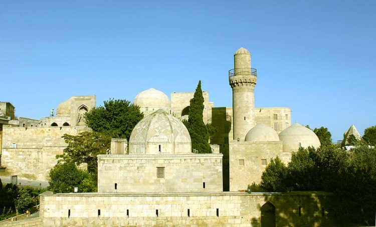 Дворец Ширваншахов в Баку - достопримечательности Баку