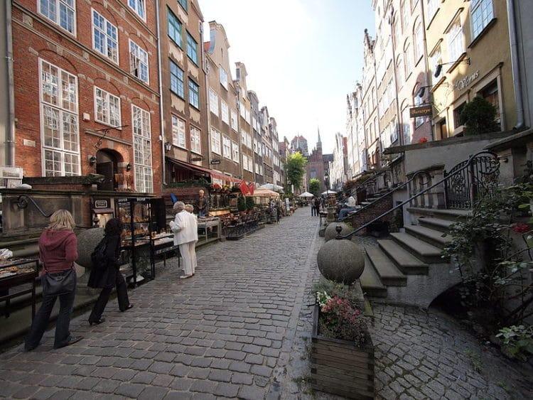 Мариацкая улица - достопримечательности Гданьска