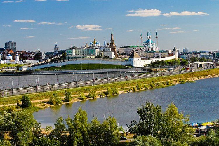 Достопримечательности России - Казанский кремль