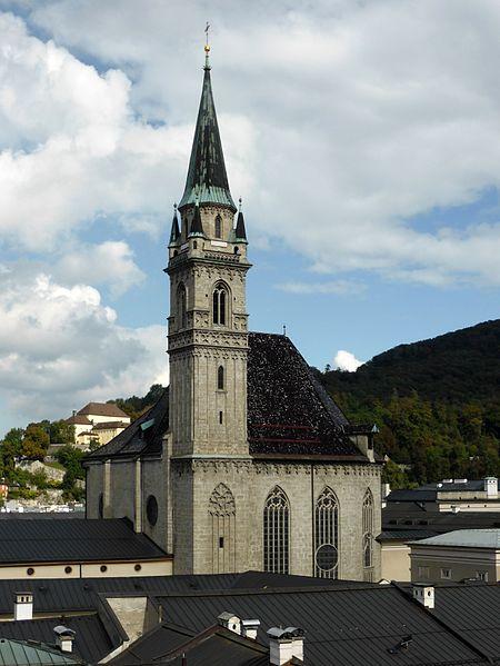 Францисканская церковь - достопримечательности Зальцбурга