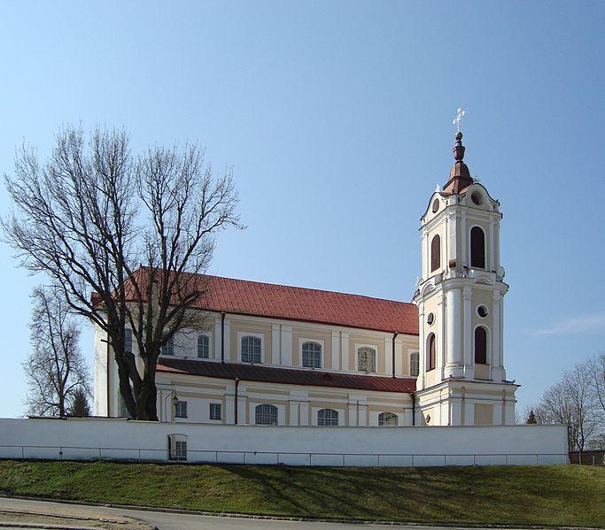 Костёл Девы Марии Ангельской - достопримечательности Гродно