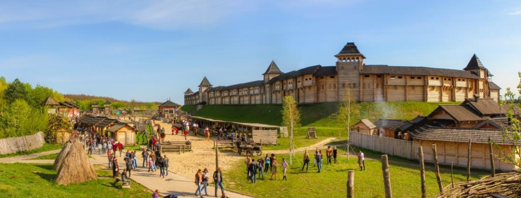 Древний Киев в Княжестве Киевская Русь