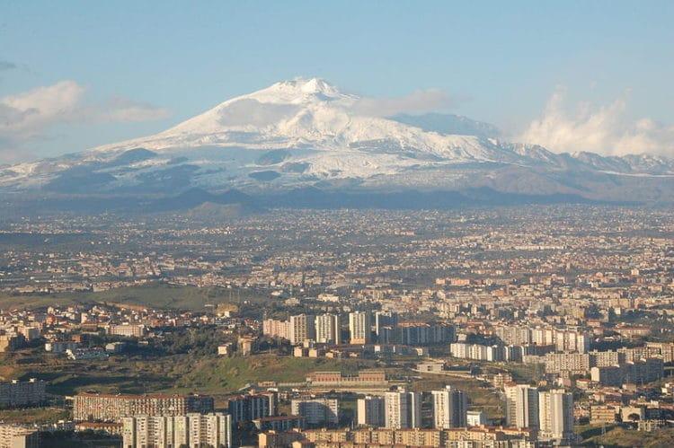 Вулкан Этна - достопримечательности Катании