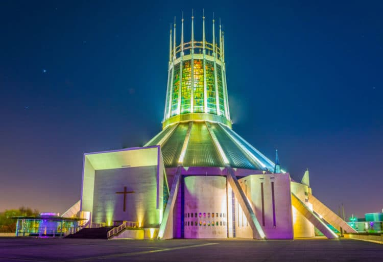 Ливерпульский метропольный собор - достопримечательности Ливерпуля