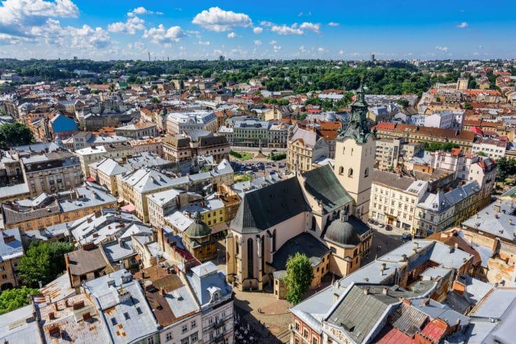 Латинский собор - достопримечательности Львова