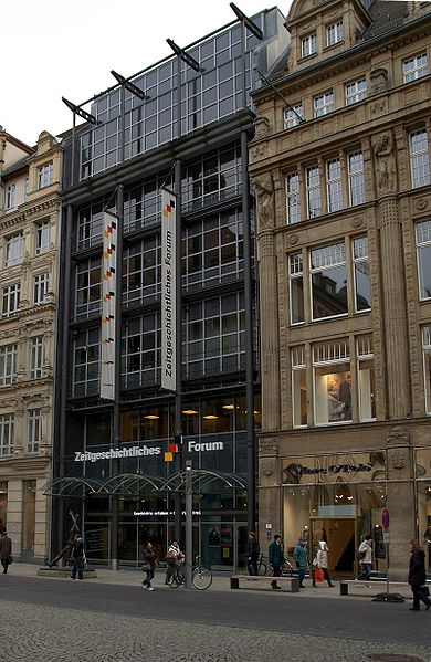 Форум современной истории - достопримечательности Лейпцига