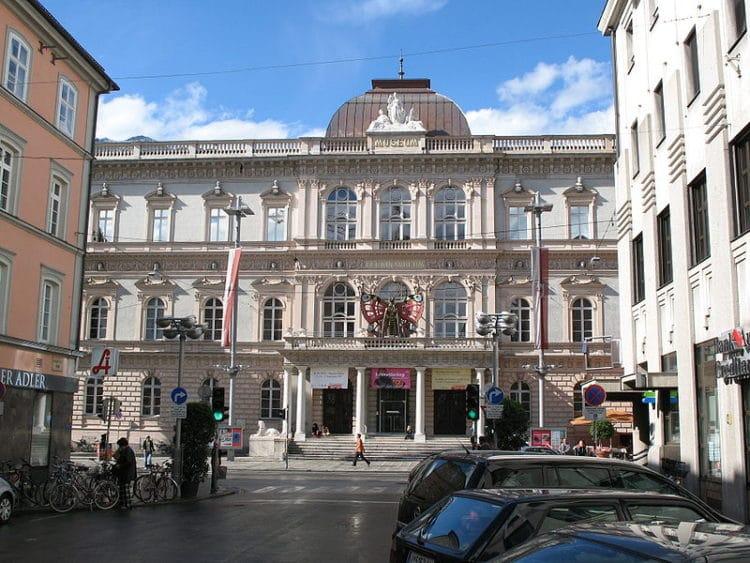 Музей Фердинандеум - достопримечательности Инсбрука