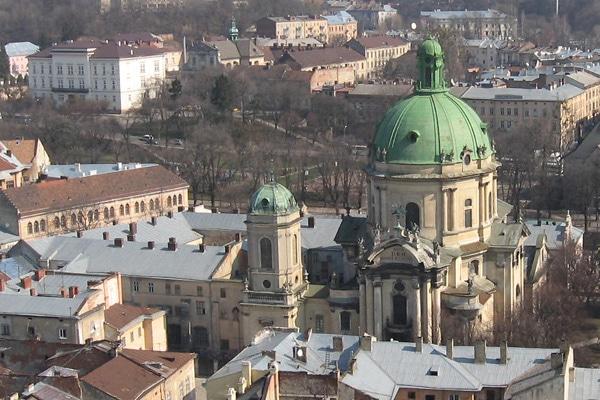 Доминиканский монастырь и собор - достопримечательности Львова