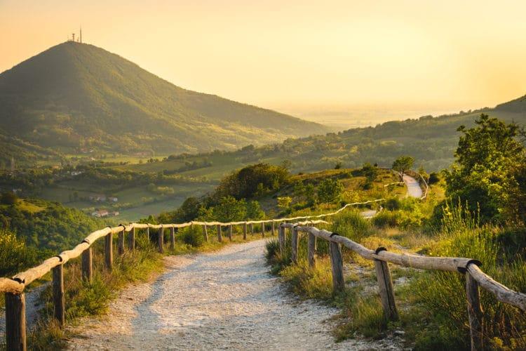 Региональный парк Эуганские холмы - Что посмотреть в Падуи