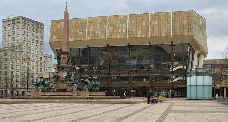 Концертный зал Гевандхаус - достопримечательности Лейпцига