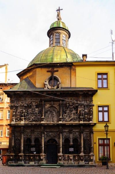 Часовня Боимов - достопримечательности Львова