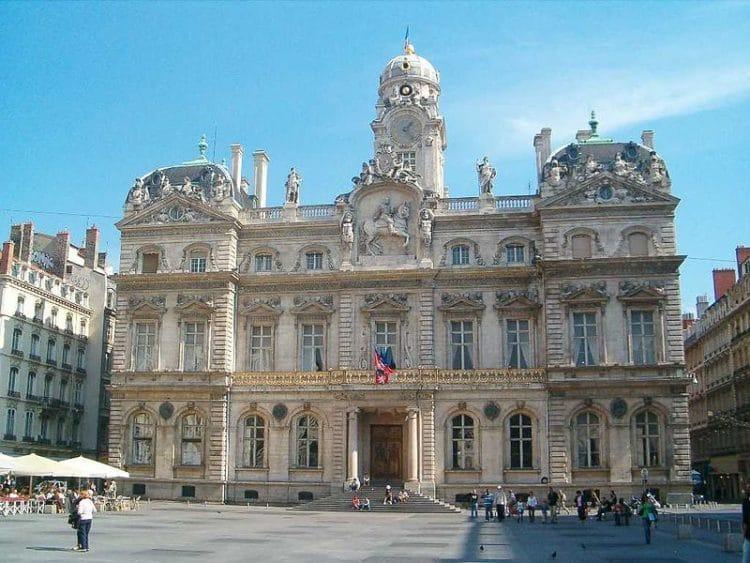 Ратуша Лиона во Франции