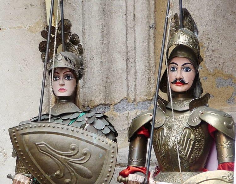 Музей и Театр Пупи Фрателли Наполи - достопримечательности Катании