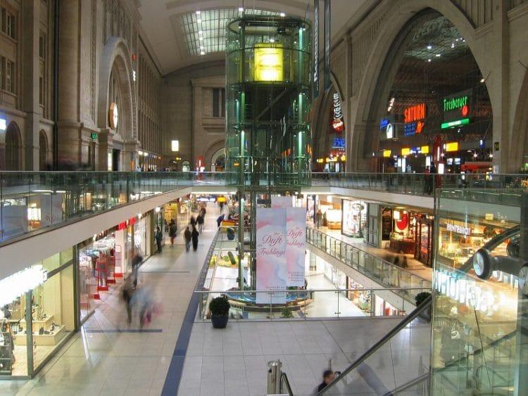Главный вокзал Лейпцига - достопримечательности Лейпцига