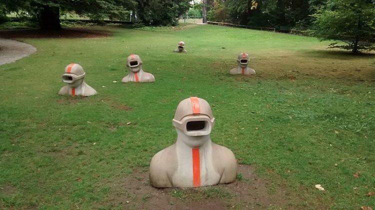 Парк Мон-Репо - достопримечательности Лозанны