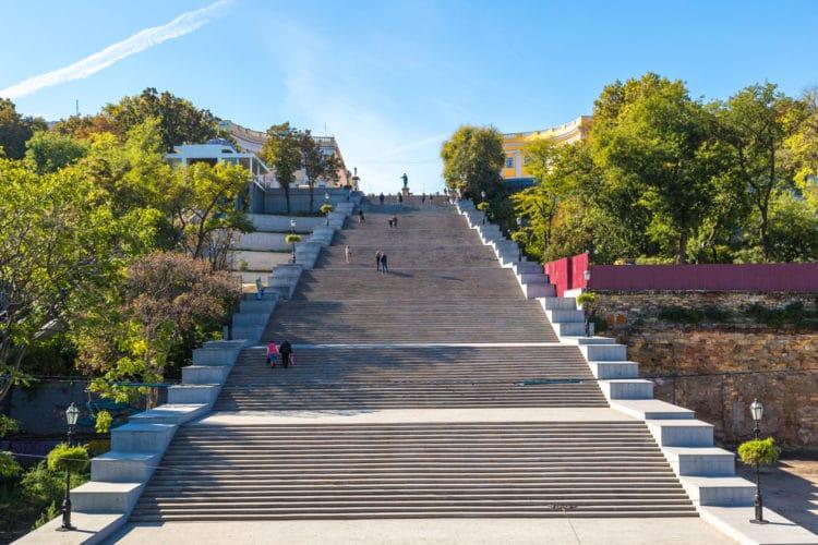 Потёмкинская лестница - достопримечательности Одессы