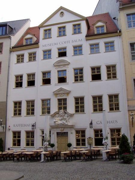 Кофейня Цум арабишен кофе баум - достопримечательности Лейпцига