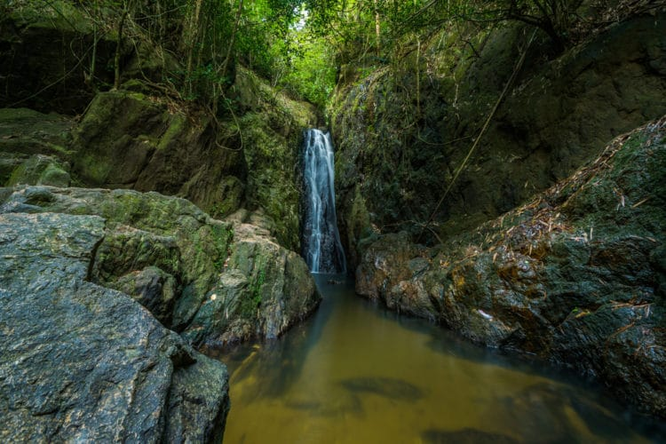 Водопад Банг Пэ - достопримечательности Пхукета