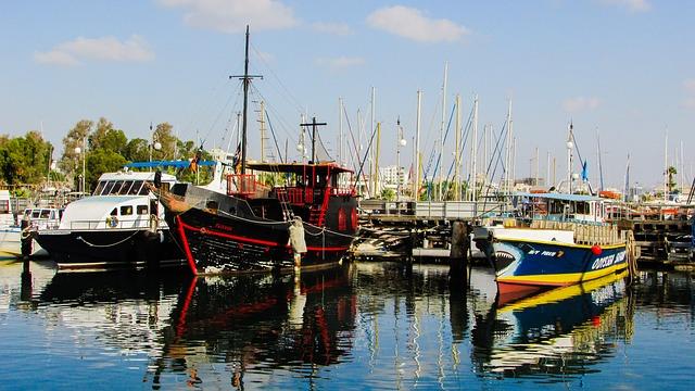 Порт Марина - достопримечательности Ларнаки