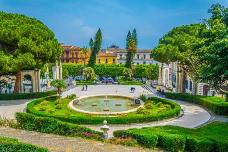 Парк «Вилла Беллини» - Что посмотреть в Катании