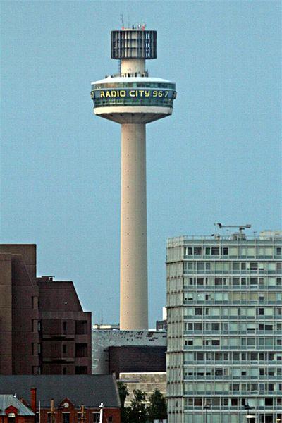 Радио Сити Тауэр - достопримечательности Ливерпуля