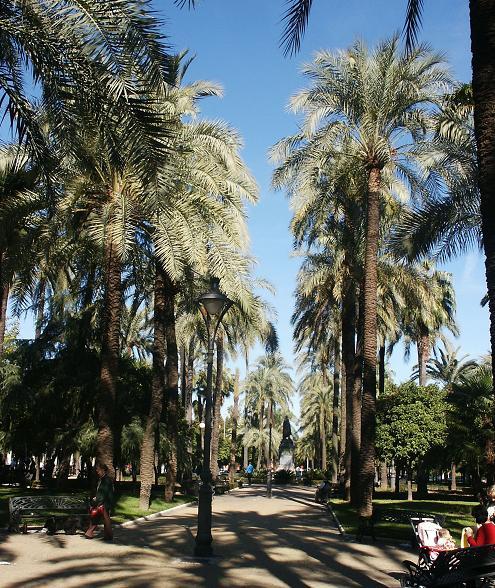 Сады Виктории - достопримечательности Кордовы