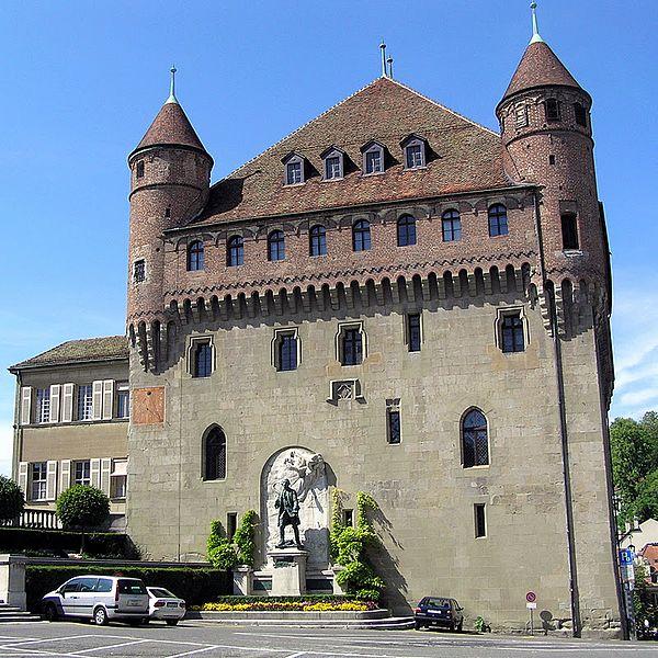 Замок Сен-Мер - достопримечательности Лозанны