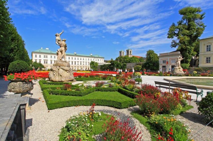 Дворец и сады Мирабель - достопримечательности Зальцбурга