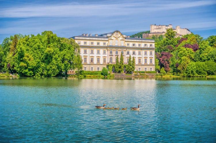 Дворец Леопольдскрон - достопримечательности Зальцбурга