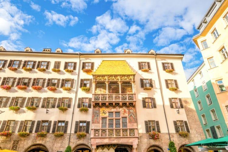 Дом с «Золотой крышей» - достопримечательности Инсбрука