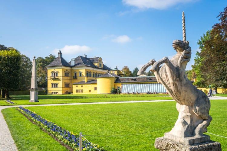 Дворец Хельбрунн - достопримечательности Зальцбурга