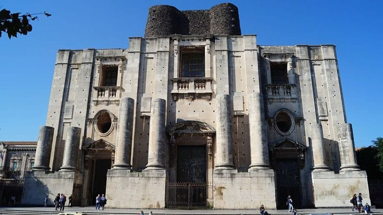 Церковь Святого Николая - достопримечательности Катании