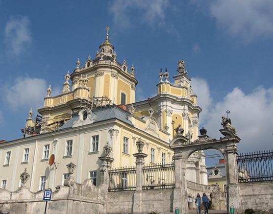 Собор святого Юра - достопримечательности Львова