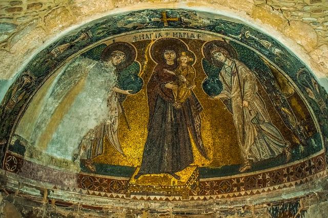 Церковь Ангелоктисти - достопримечательности Ларнаки