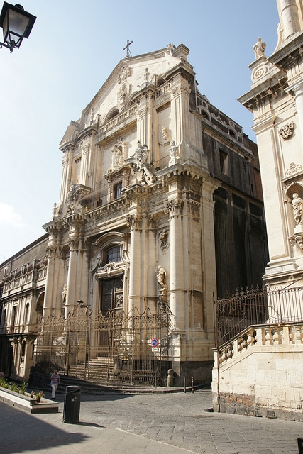 Церковь Святого Бенедетто - достопримечательности Катании