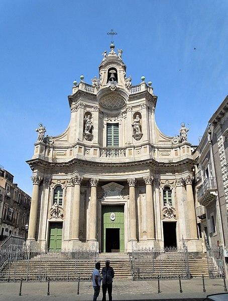 Коллегиальная базилика - достопримечательности Катании