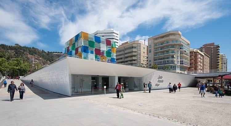 Центр Помпиду - достопримечательности Малаги