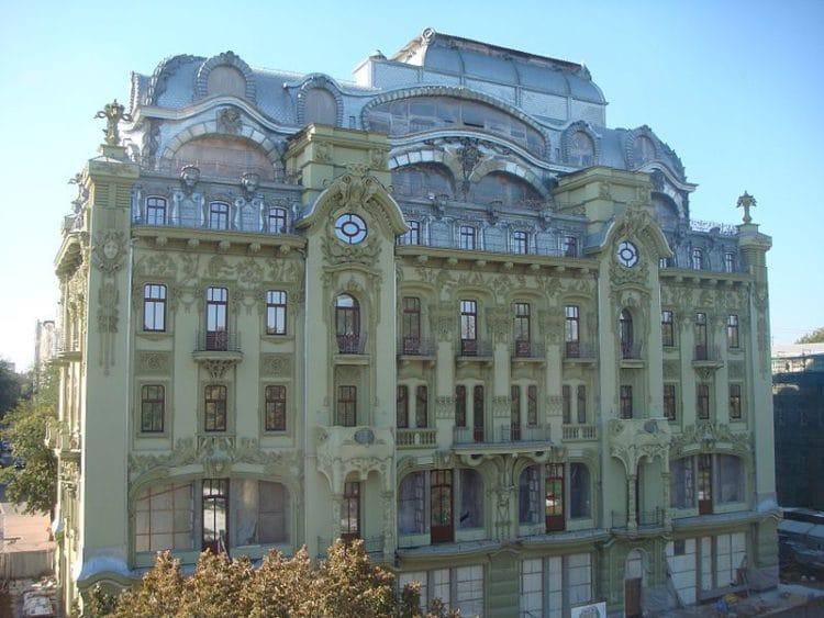 Гостиница Большая Московская - достопримечательности Одессы