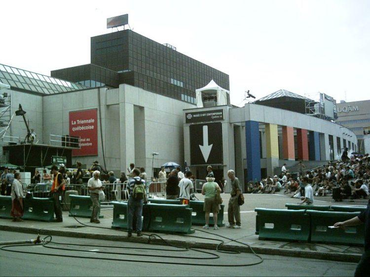 Музей современного искусства - достопримечательности Монреаля