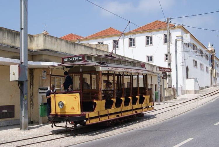 Трамвай Синтры - достопримечательности Синтры