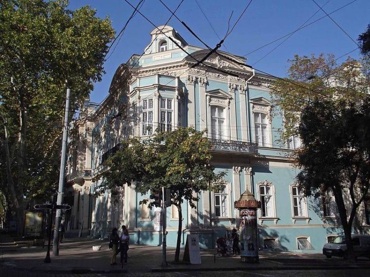 Одесский музей западного и восточного искусства - достопримечательности Одессы