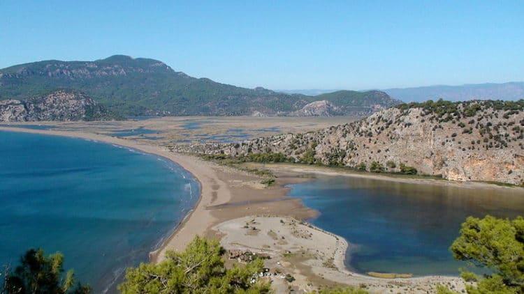 Ликийские гробницы и Черепаший берег в Дальяне - достопримечательности Мармариса