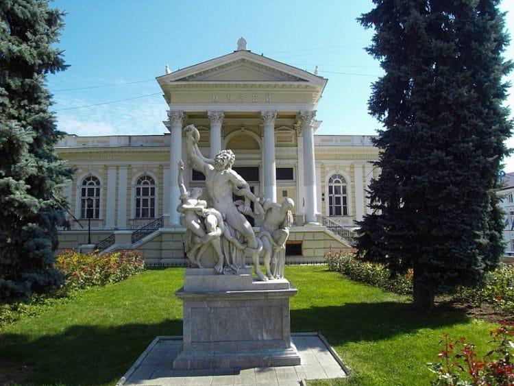 Археологический музей - достопримечательности Одессы
